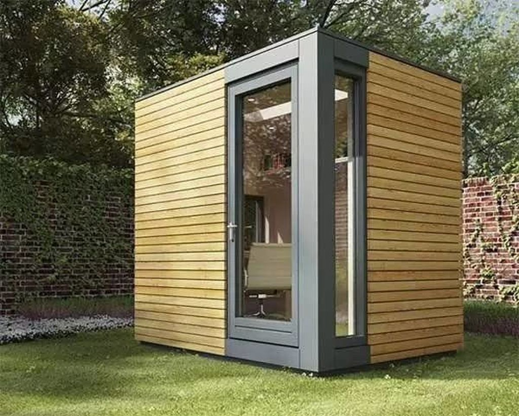 Stunning Garden Studio Design Ideas That You Definitely Like 25