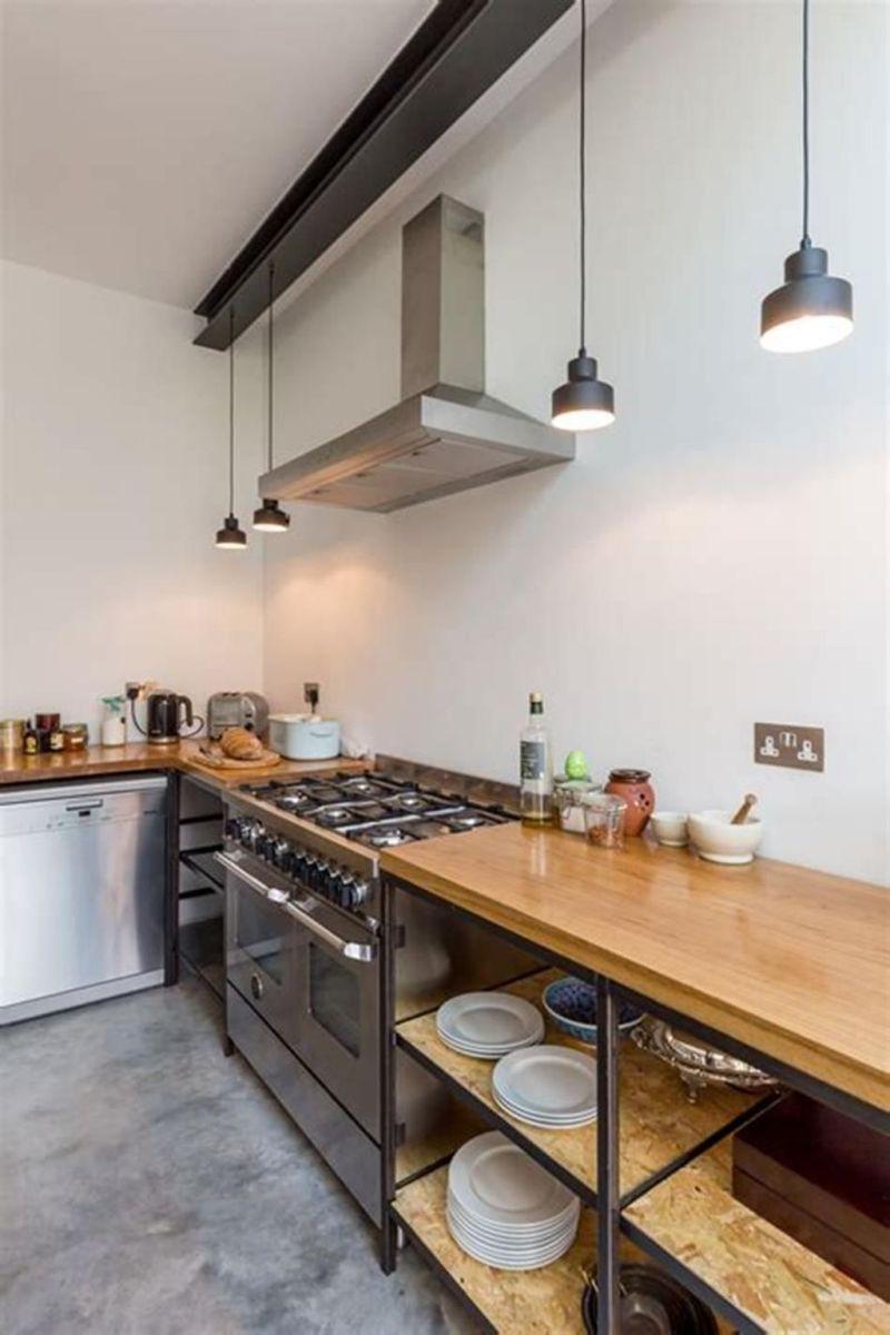 Wonderful Kitchen Lighting Ideas To Make It Look More Beautiful 26