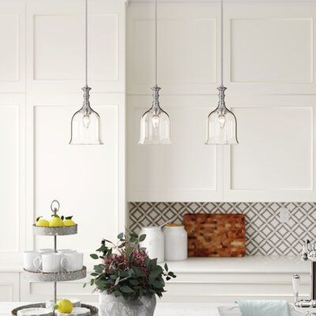 Wonderful Kitchen Lighting Ideas To Make It Look More Beautiful 31