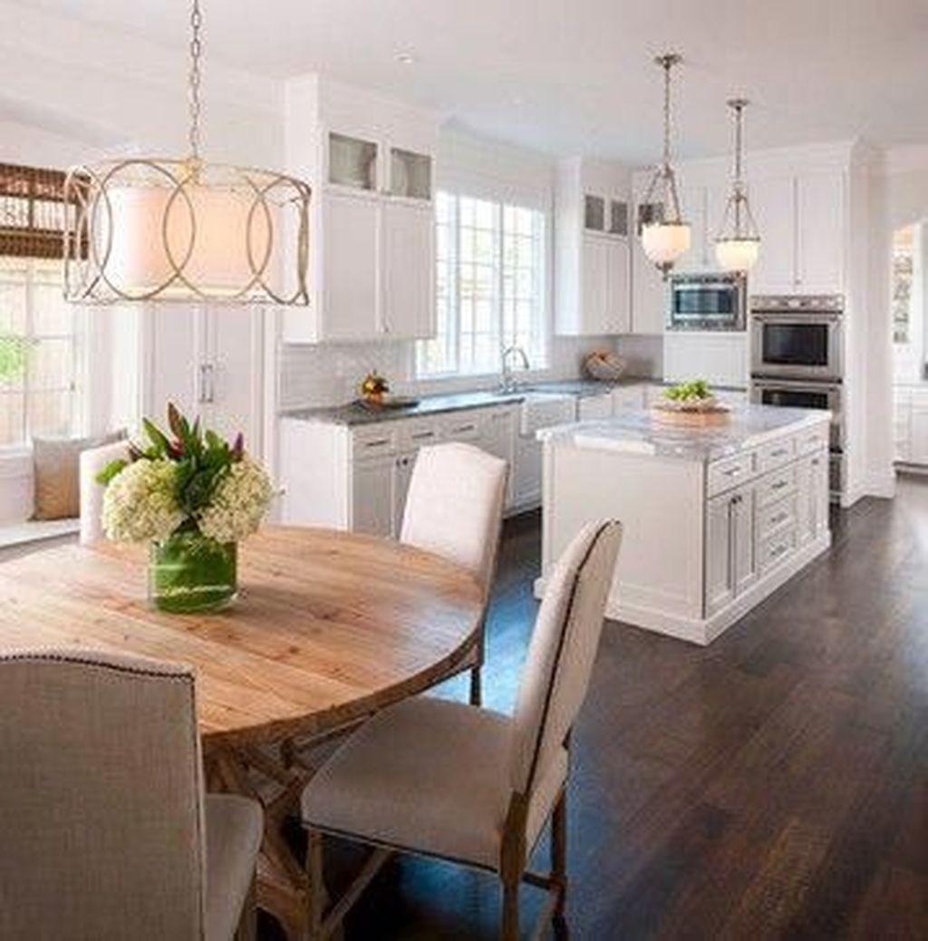 Wonderful Kitchen Lighting Ideas To Make It Look More Beautiful 33
