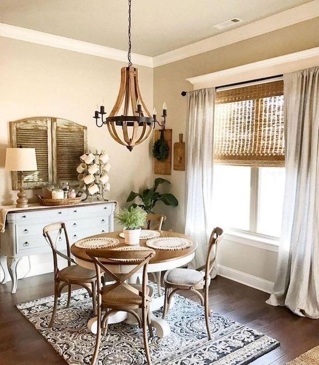 Inspiring Dining Room Buffet Decor Ideas 01