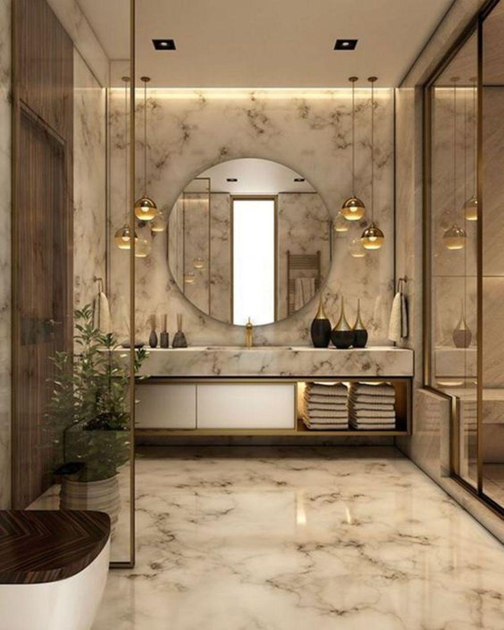 Popular Contemporary Bathroom Design Ideas 21