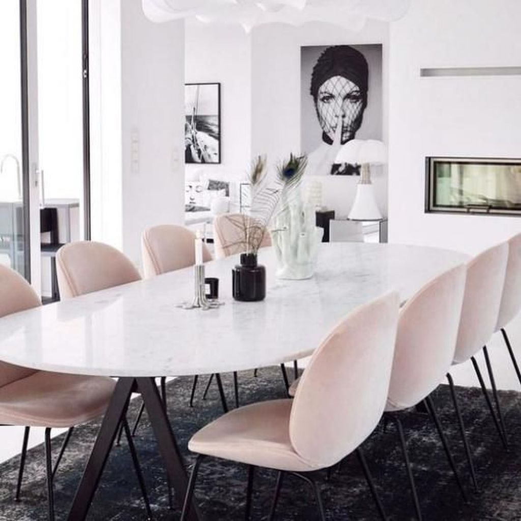 Stunning Dining Room Table Design With Modern Style 02