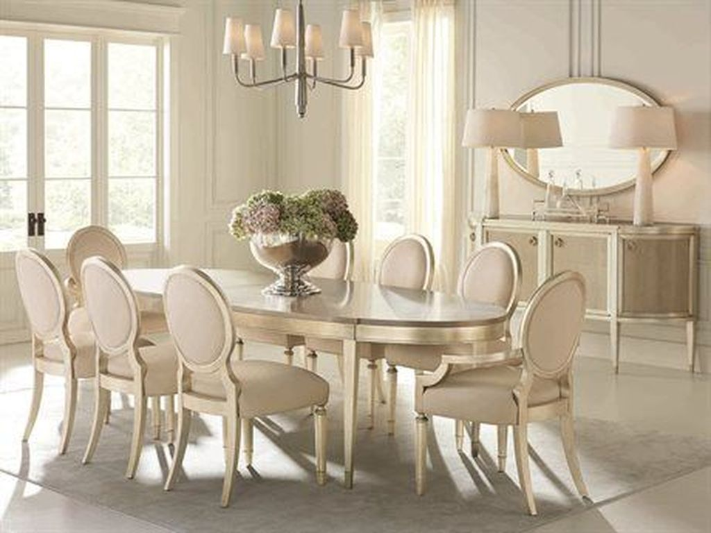 Stunning Dining Room Table Design With Modern Style 07
