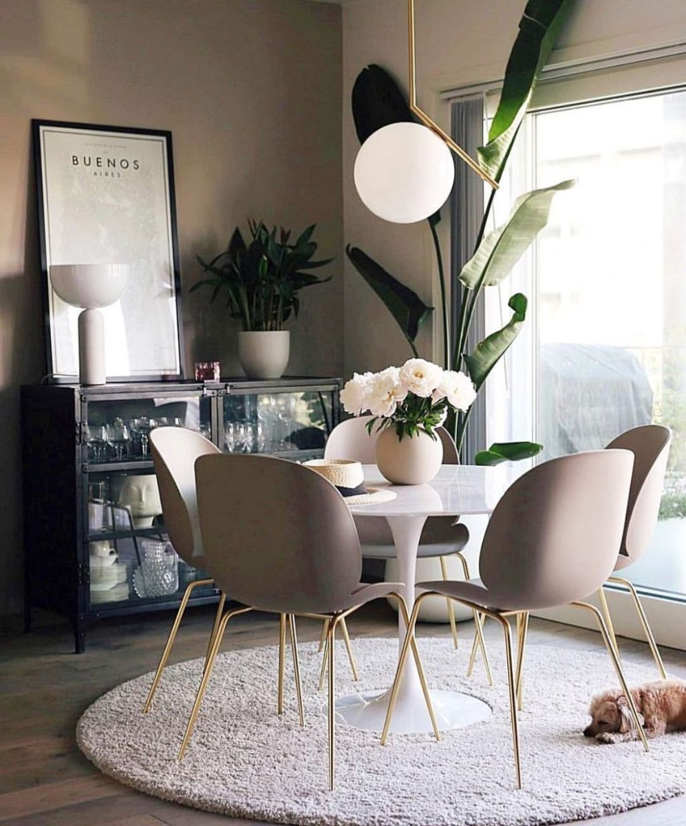 Stunning Dining Room Table Design With Modern Style 20