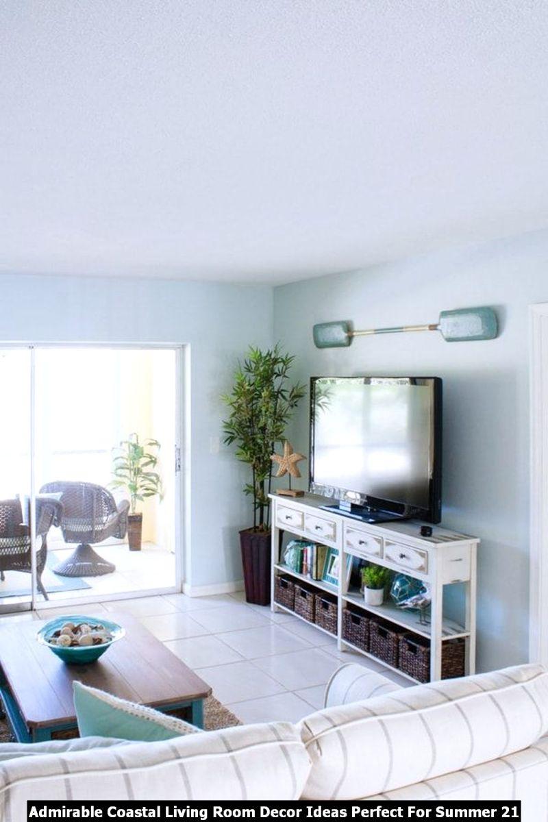 Admirable Coastal Living Room Decor Ideas Perfect For Summer 21
