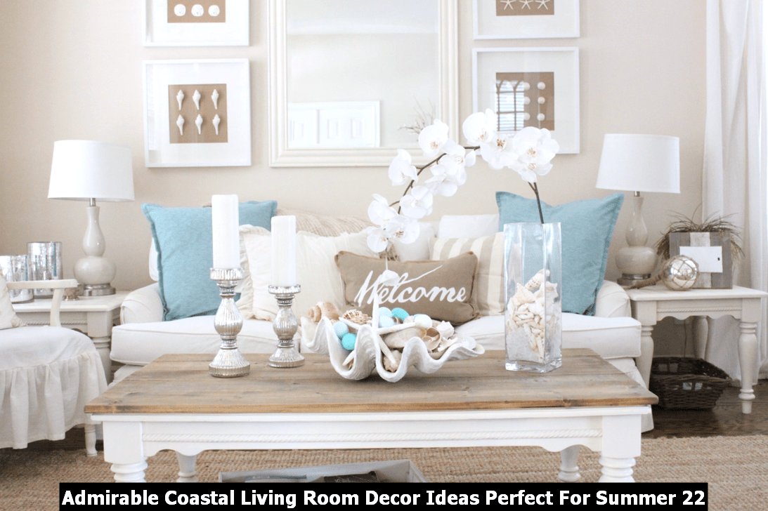 Admirable Coastal Living Room Decor Ideas Perfect For Summer 22