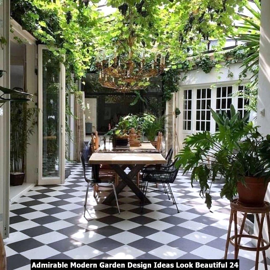 Admirable Modern Garden Design Ideas Look Beautiful 24