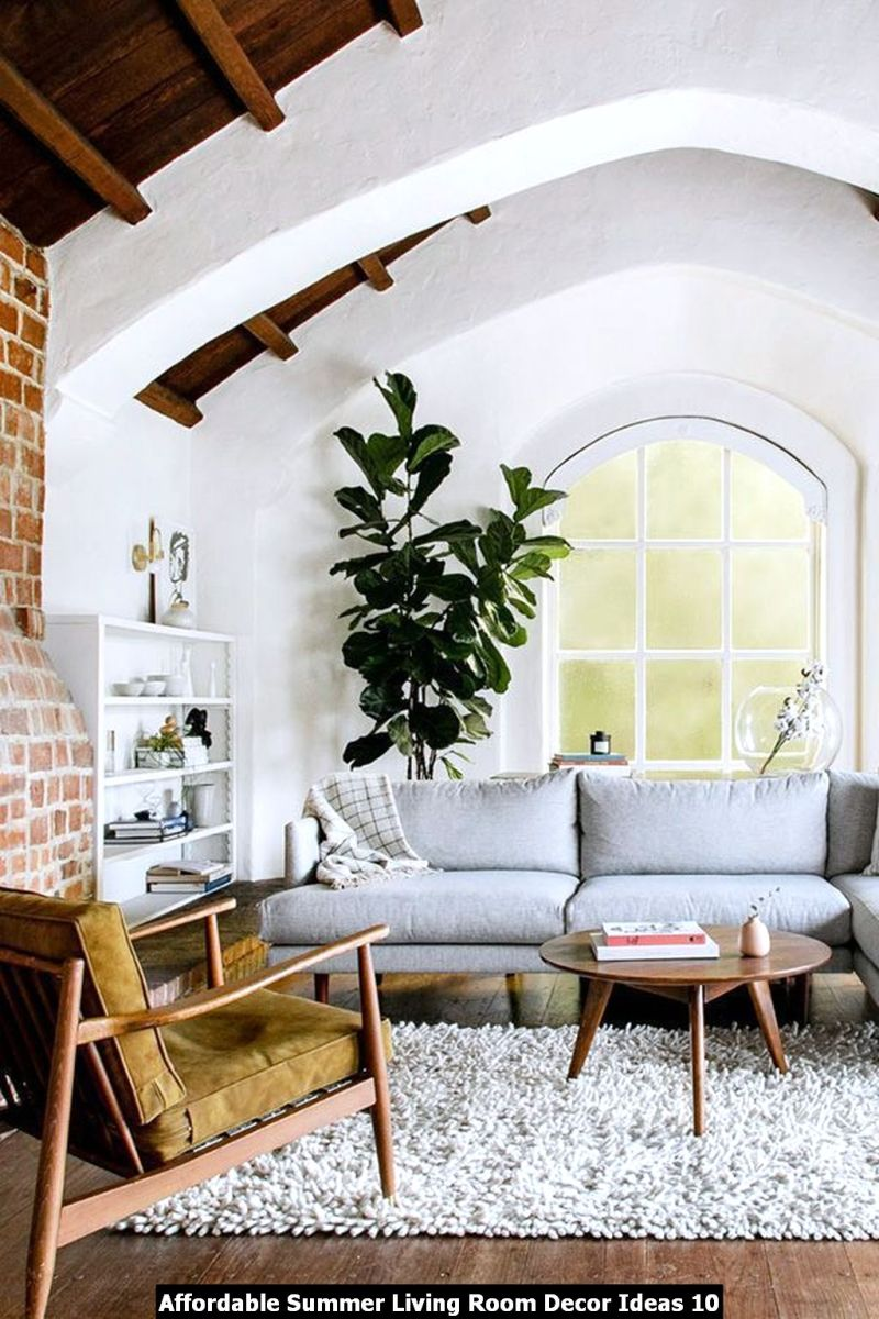 Affordable Summer Living Room Decor Ideas 10