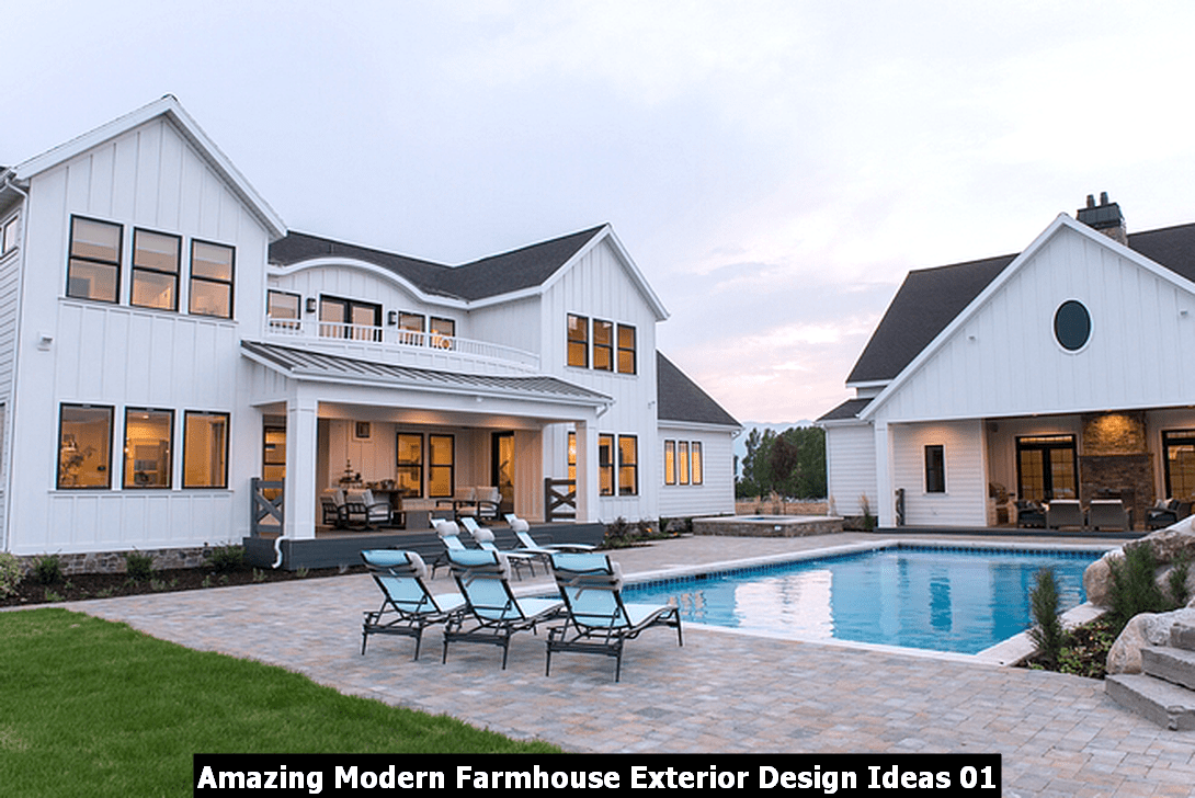 Amazing Modern Farmhouse Exterior Design Ideas 01