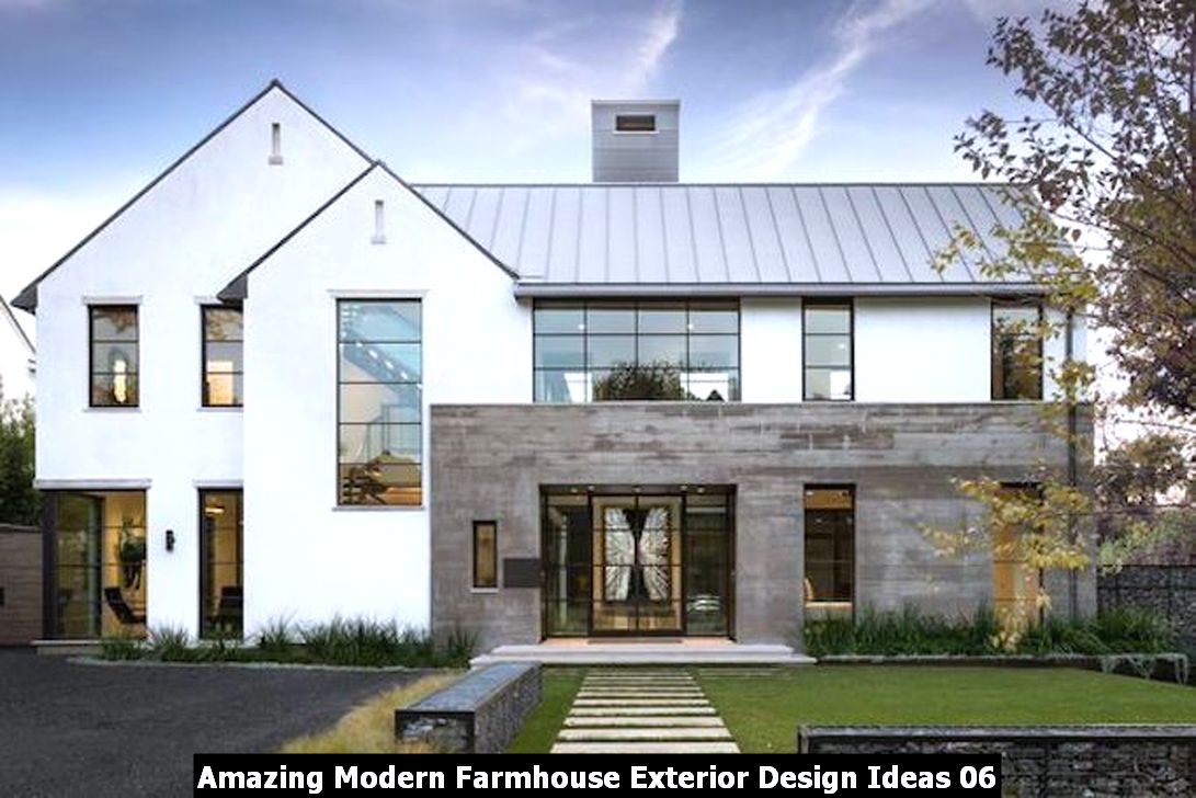 Amazing Modern Farmhouse Exterior Design Ideas 06