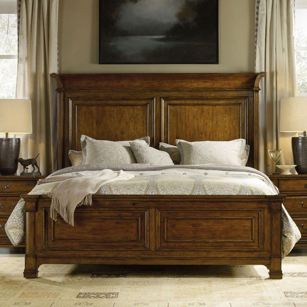 Amazing Vintage Wooden Bed Frame Design Ideas 17
