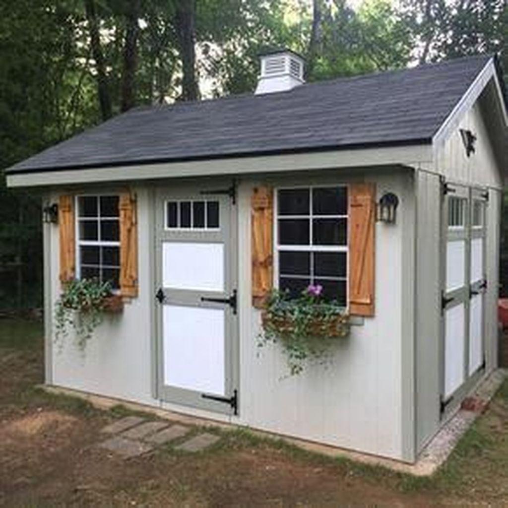 Awesome Backyard Storage Sheds Design Ideas 09