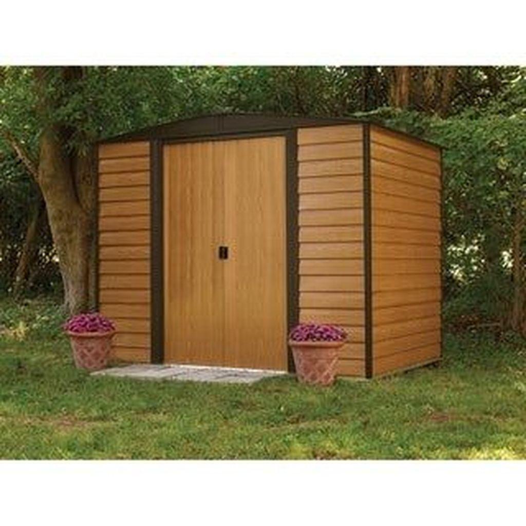 Awesome Backyard Storage Sheds Design Ideas 16