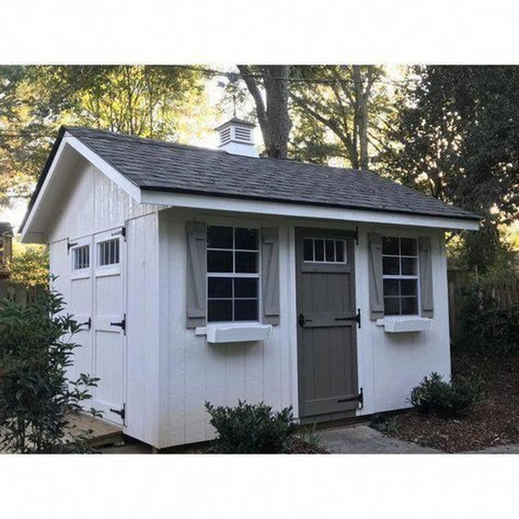 Awesome Backyard Storage Sheds Design Ideas 27