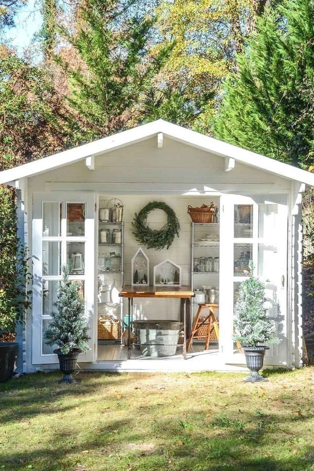 Awesome Backyard Storage Sheds Design Ideas 29
