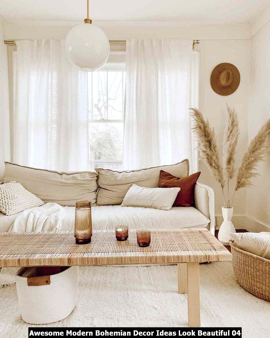 Awesome Modern Bohemian Decor Ideas Look Beautiful 04