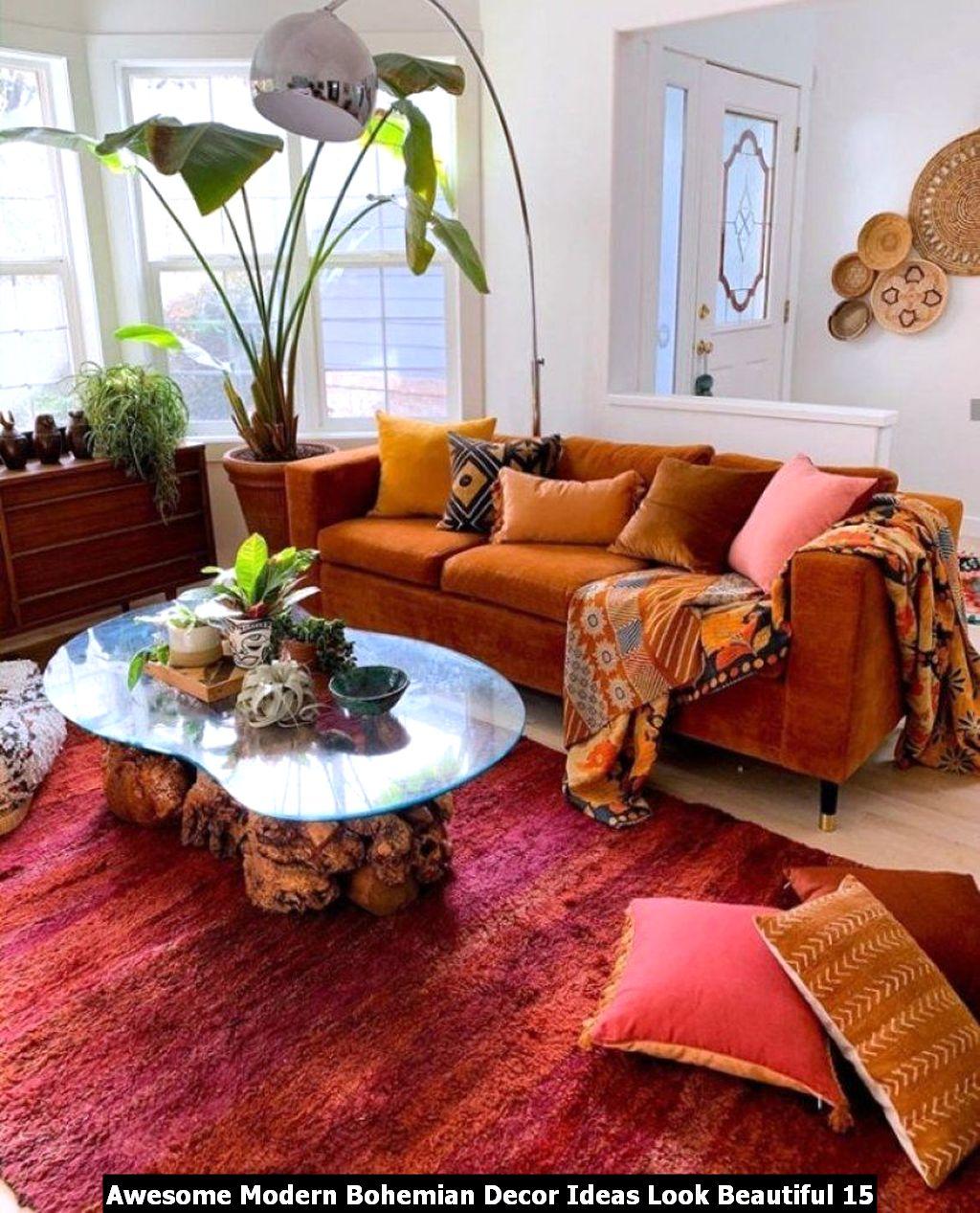 Awesome Modern Bohemian Decor Ideas Look Beautiful 15
