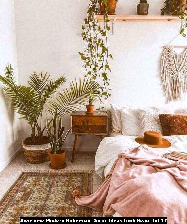 Awesome Modern Bohemian Decor Ideas Look Beautiful 17