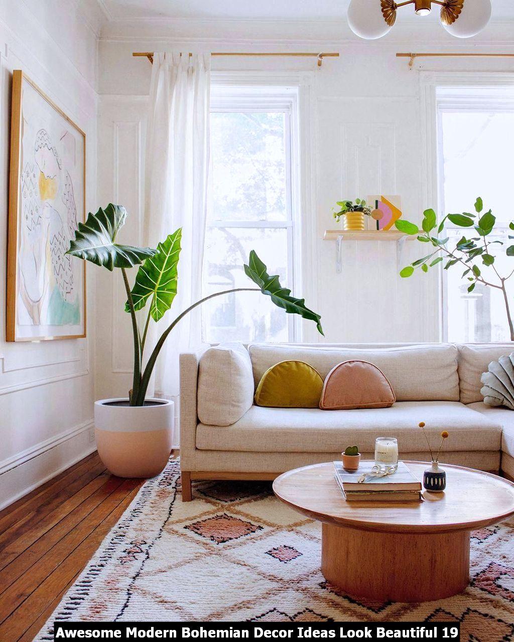 Awesome Modern Bohemian Decor Ideas Look Beautiful 19