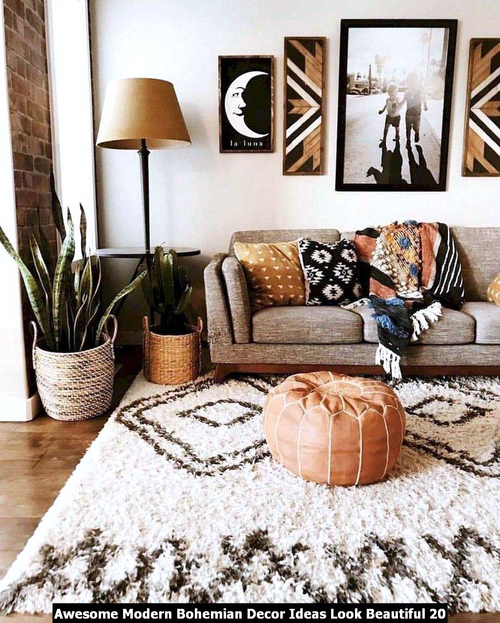 Awesome Modern Bohemian Decor Ideas Look Beautiful 20