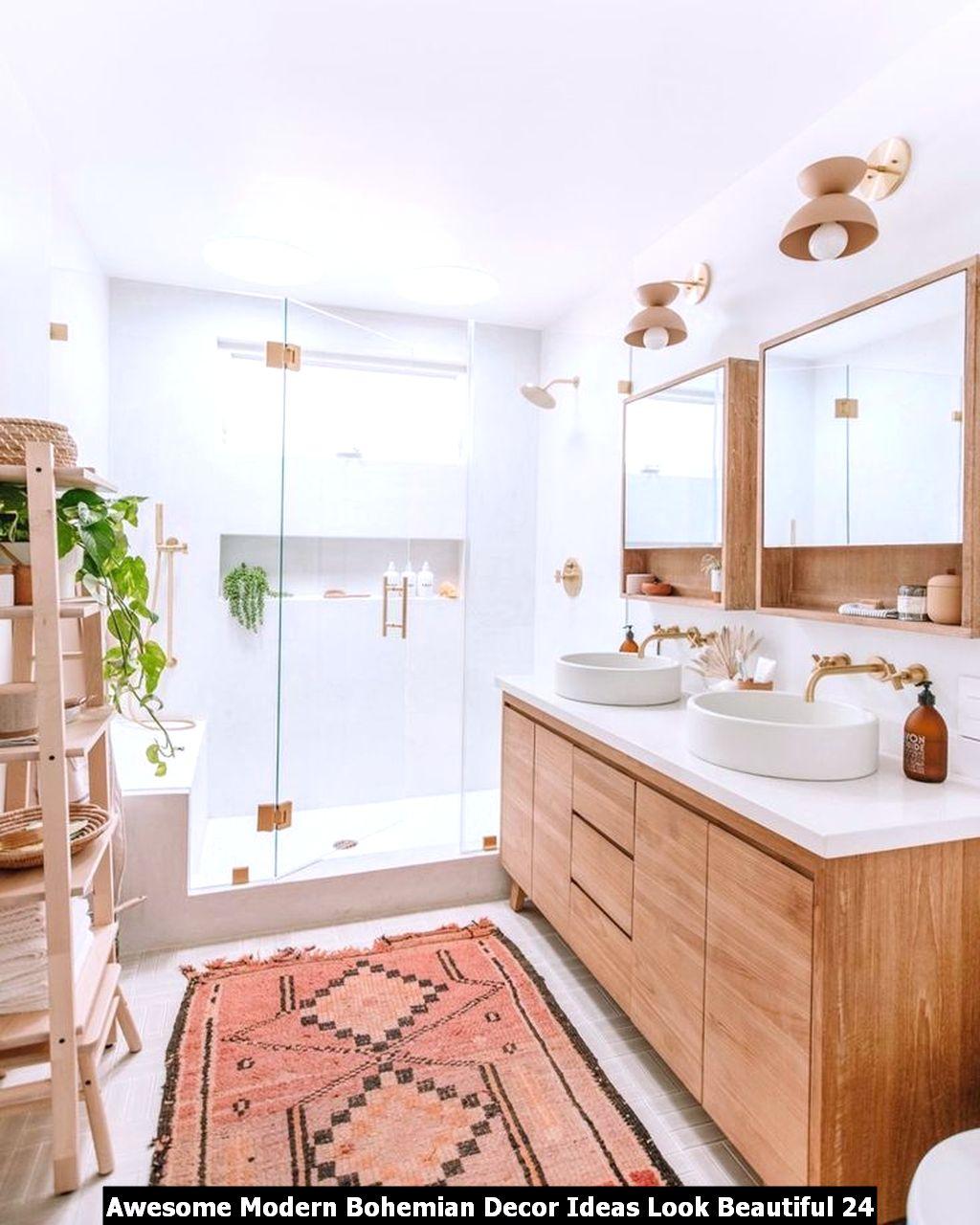 Awesome Modern Bohemian Decor Ideas Look Beautiful 24