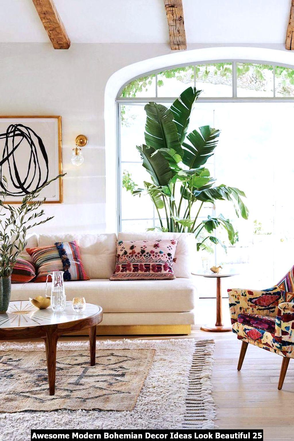 Awesome Modern Bohemian Decor Ideas Look Beautiful 25