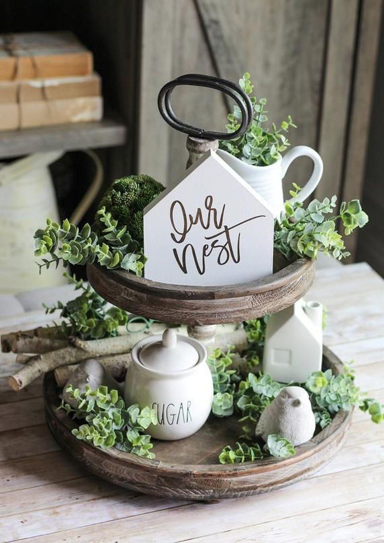 Beautiful Farmhouse Spring Table Decor Ideas 08