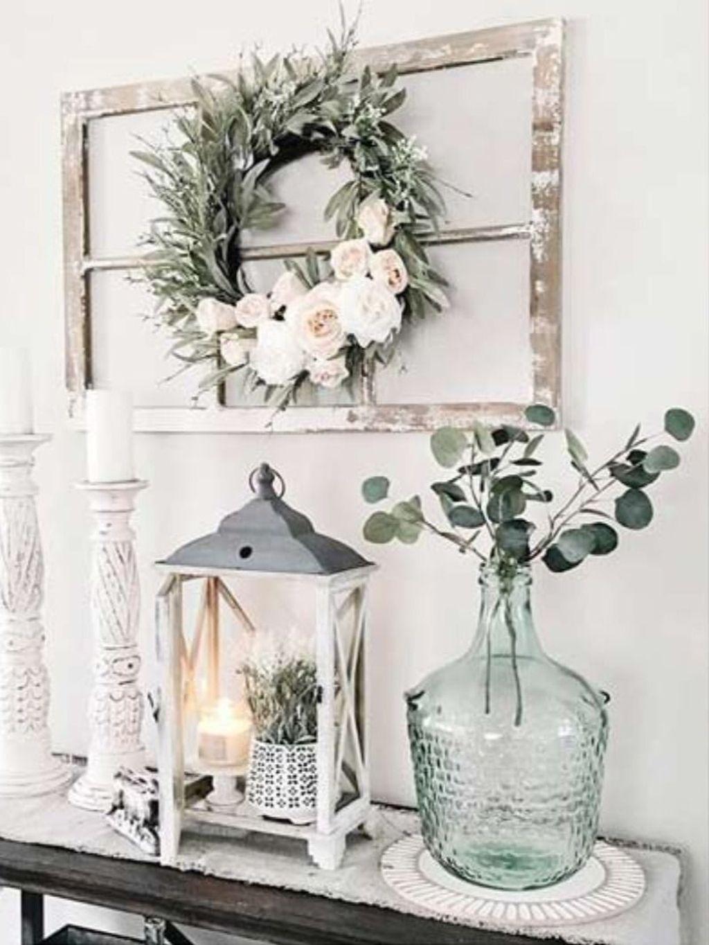 Beautiful Farmhouse Spring Table Decor Ideas 20