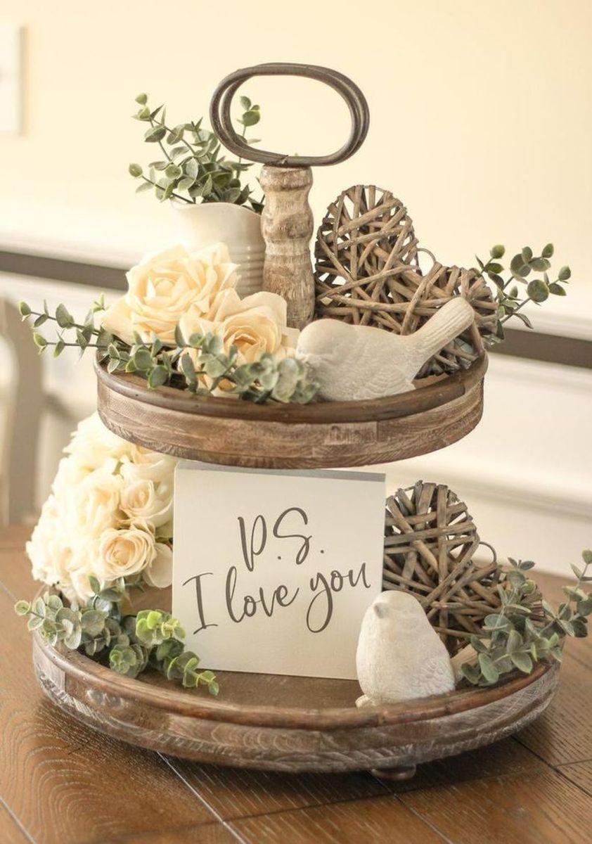 Beautiful Farmhouse Spring Table Decor Ideas 33