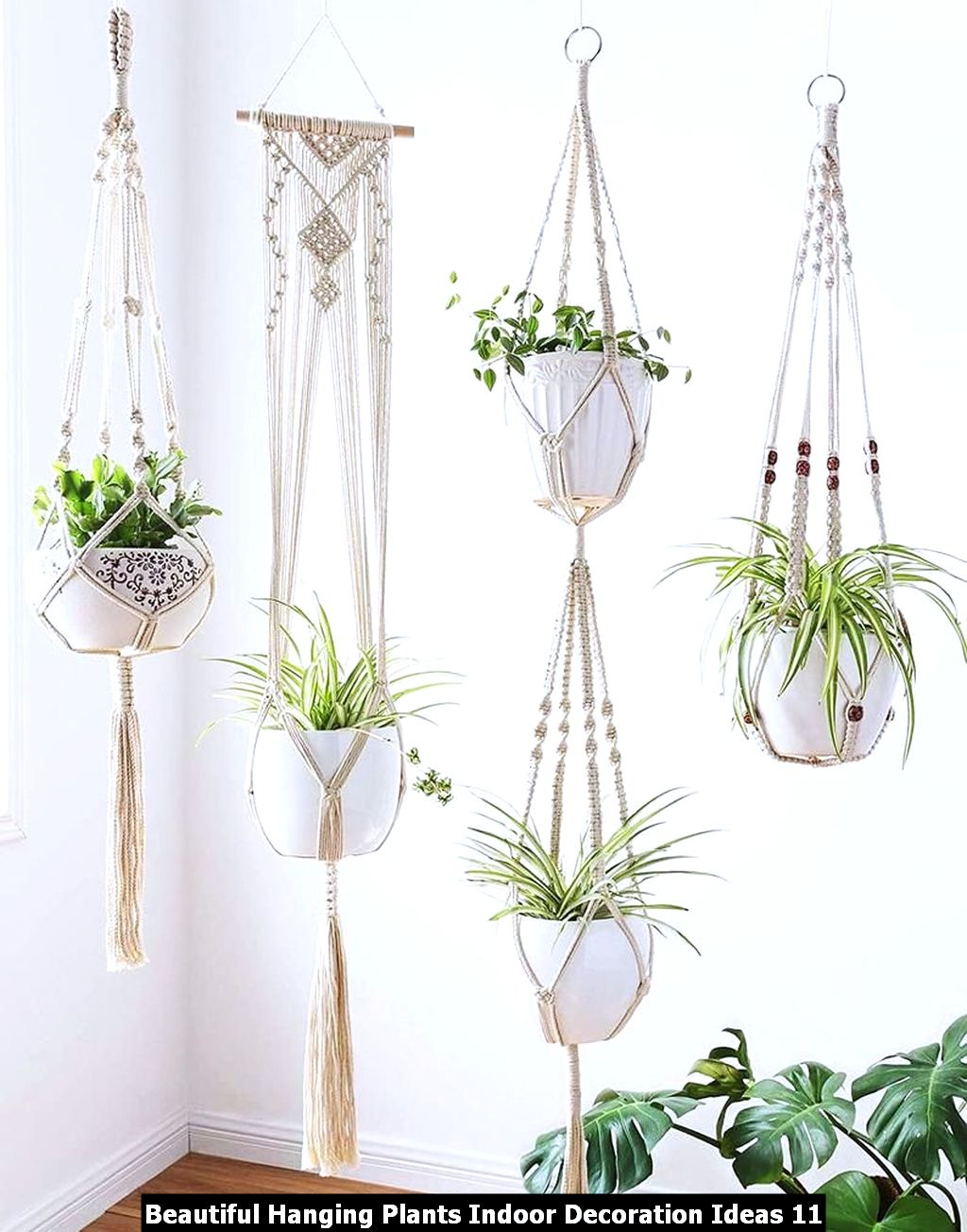 Beautiful Hanging Plants Indoor Decoration Ideas 11