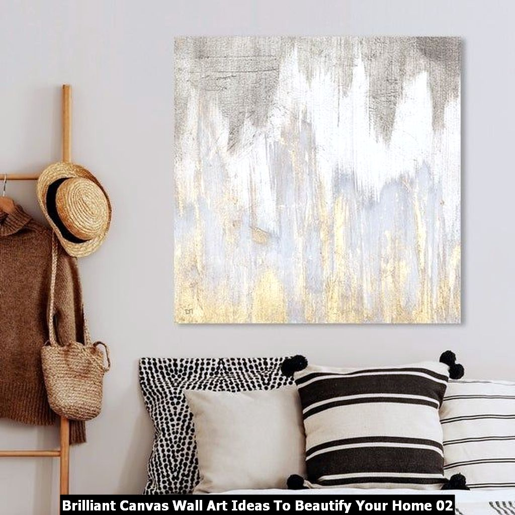 Brilliant Canvas Wall Art Ideas To Beautify Your Home 02