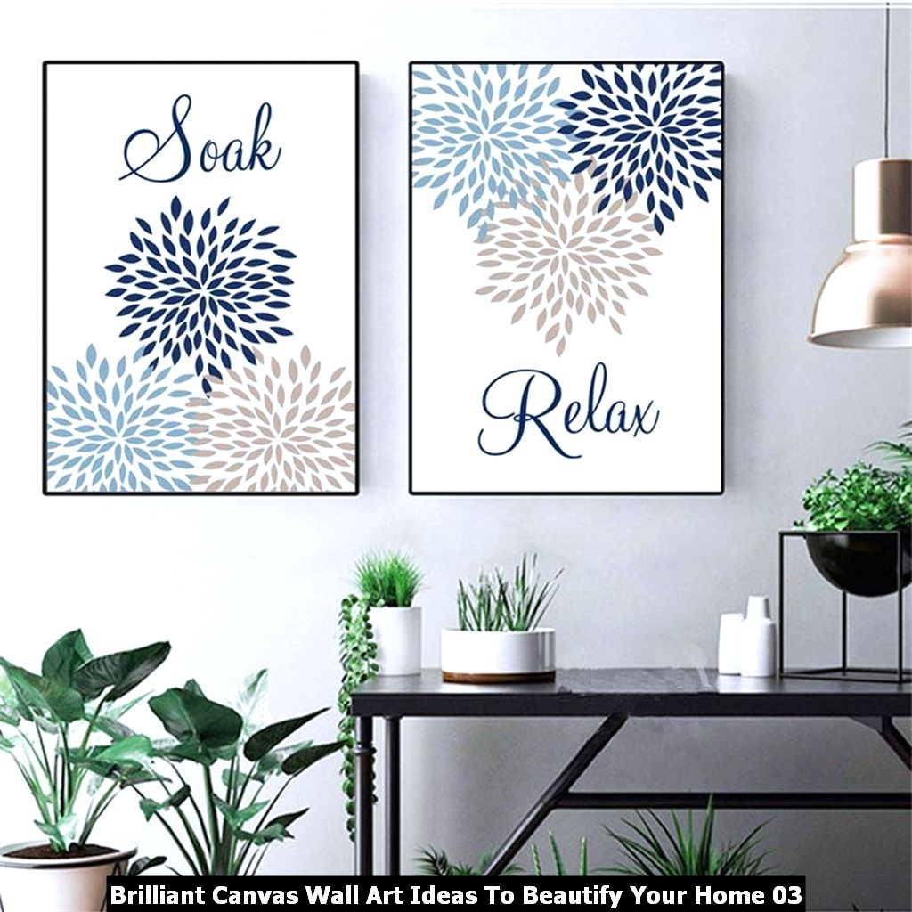 Brilliant Canvas Wall Art Ideas To Beautify Your Home 03