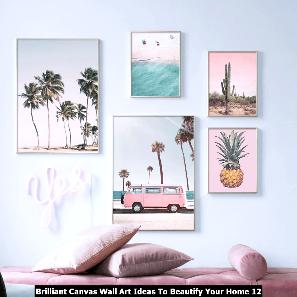 Brilliant Canvas Wall Art Ideas To Beautify Your Home 12