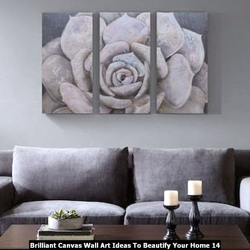 Brilliant Canvas Wall Art Ideas To Beautify Your Home 14