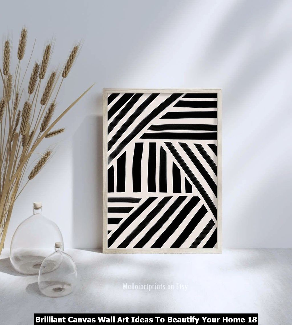 Brilliant Canvas Wall Art Ideas To Beautify Your Home 18