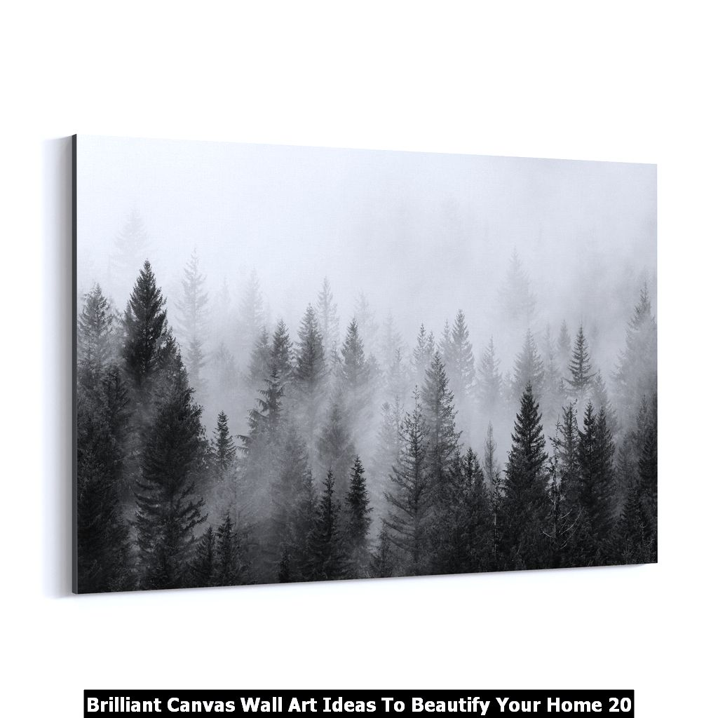 Brilliant Canvas Wall Art Ideas To Beautify Your Home 20