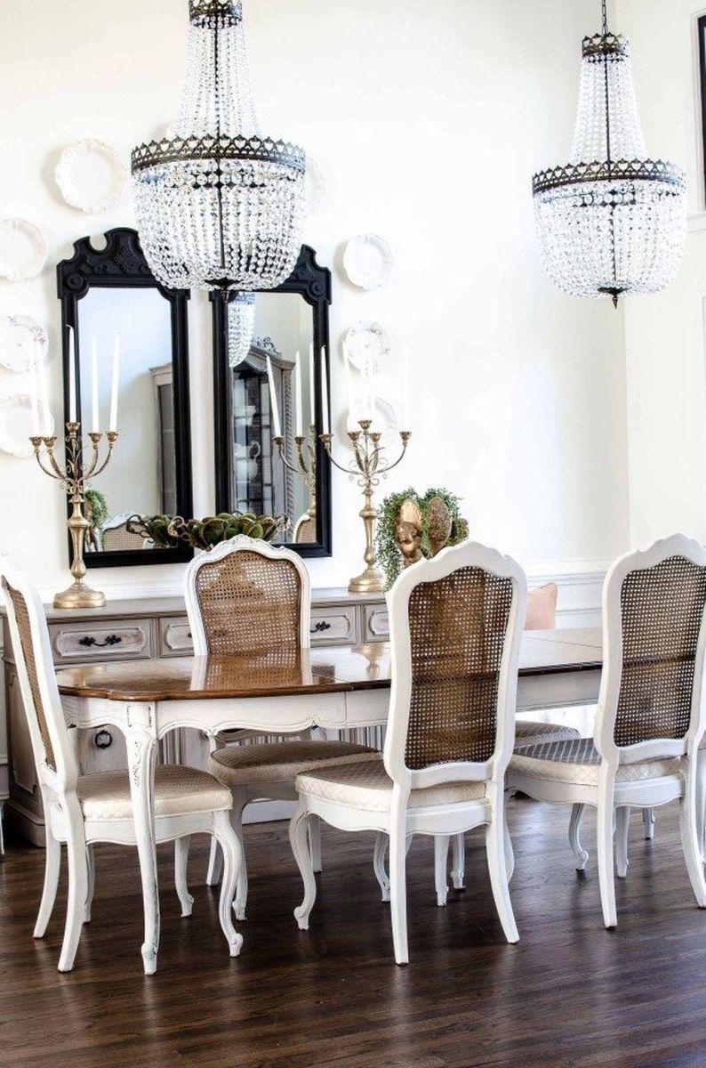 Brilliant French Dining Room Decor Ideas 13
