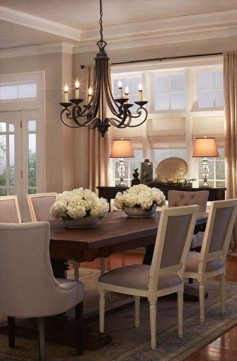 Brilliant French Dining Room Decor Ideas 15