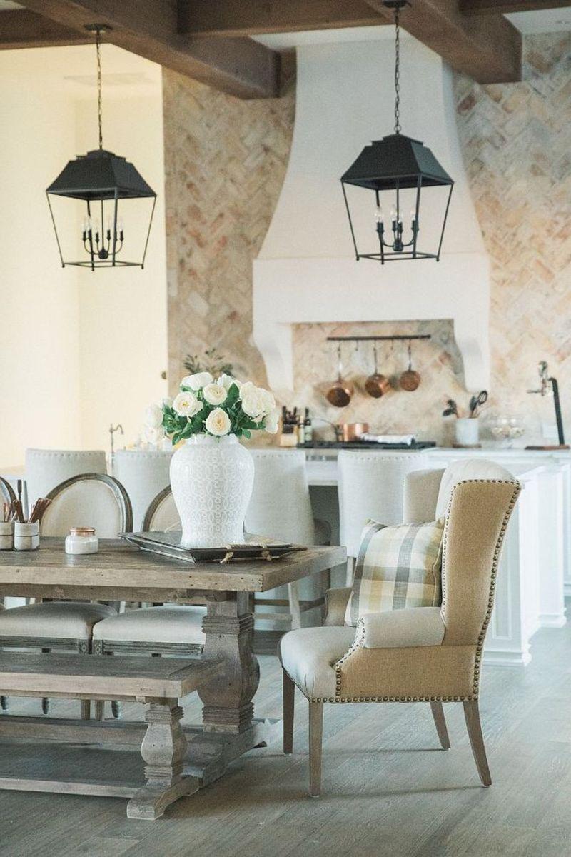 Brilliant French Dining Room Decor Ideas 25
