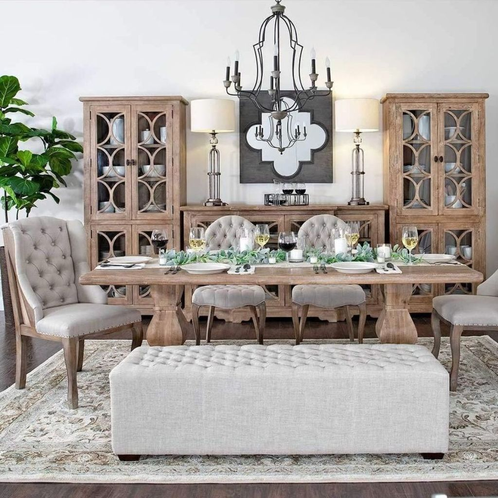 Brilliant French Dining Room Decor Ideas 31