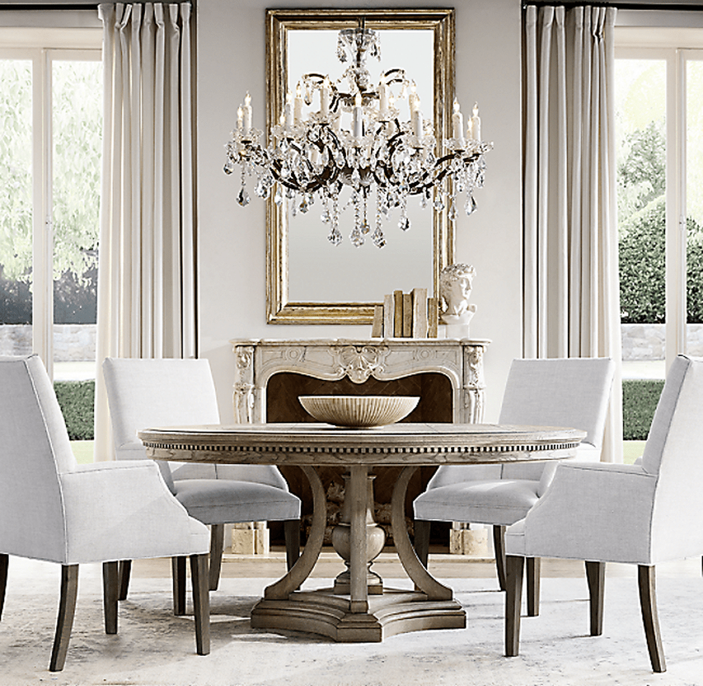 Brilliant French Dining Room Decor Ideas 33