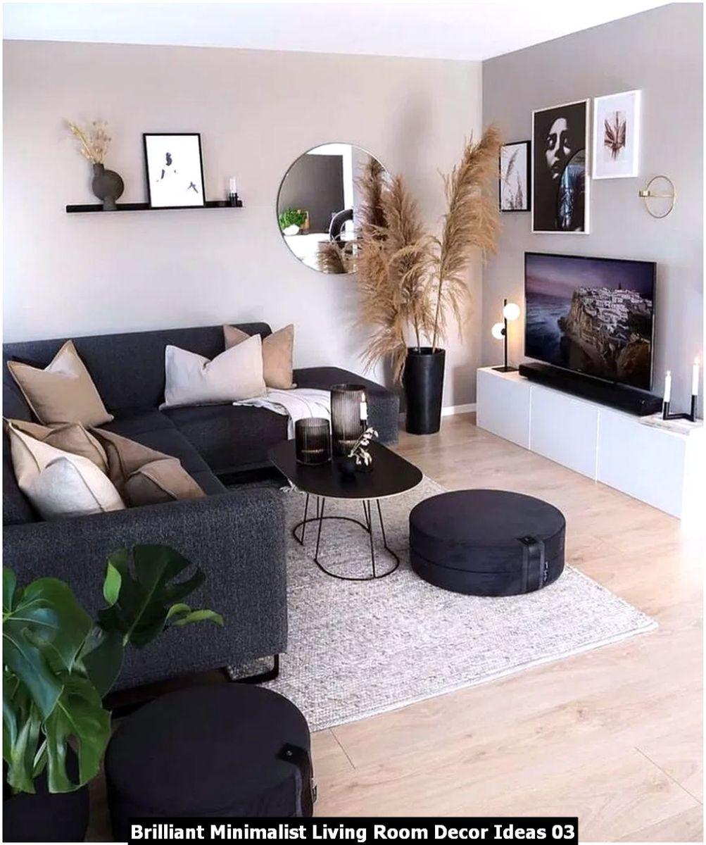 Brilliant Minimalist Living Room Decor Ideas 03