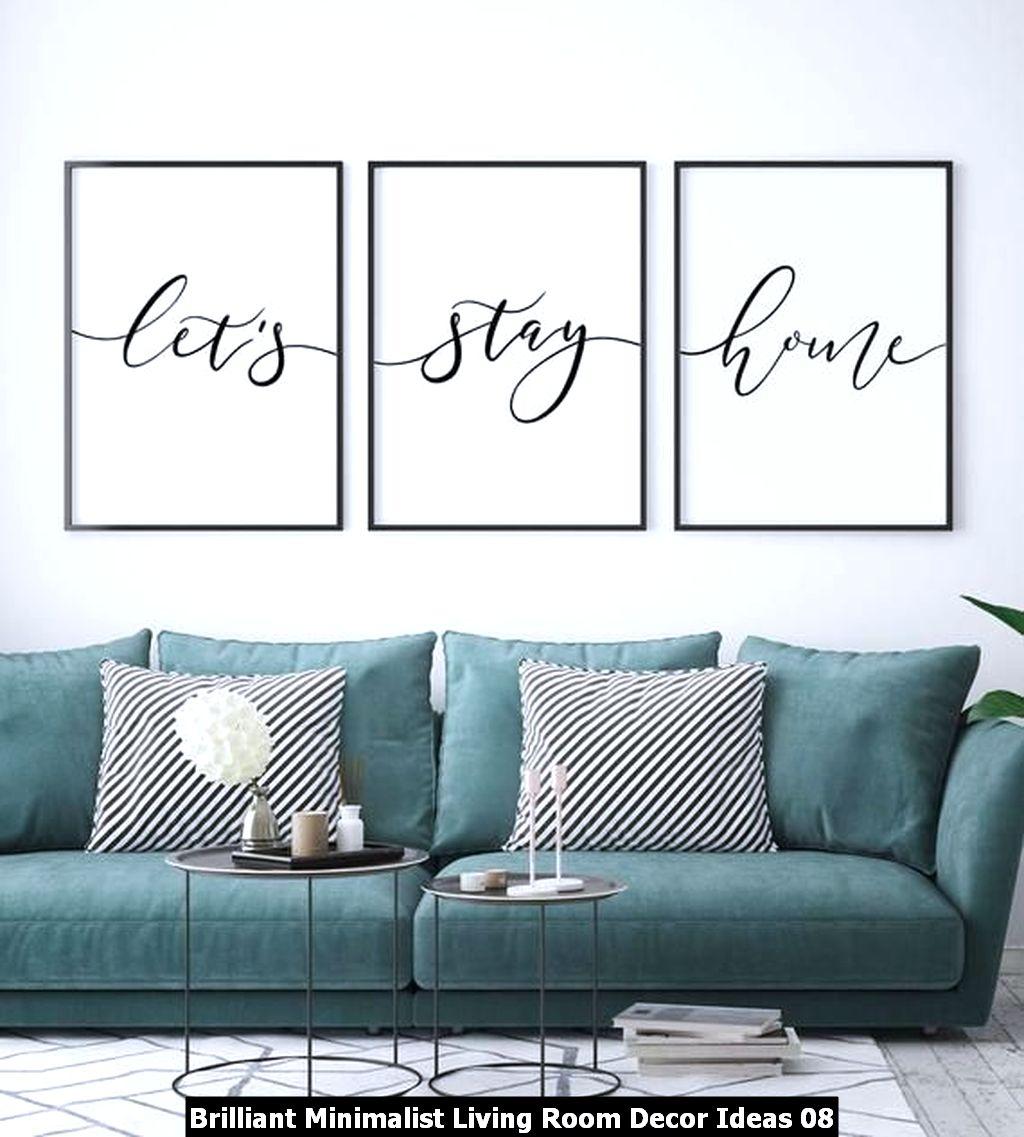 Brilliant Minimalist Living Room Decor Ideas 08
