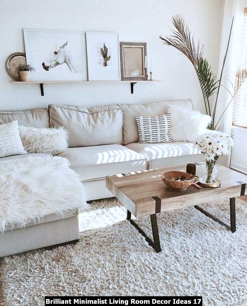 Brilliant Minimalist Living Room Decor Ideas 17