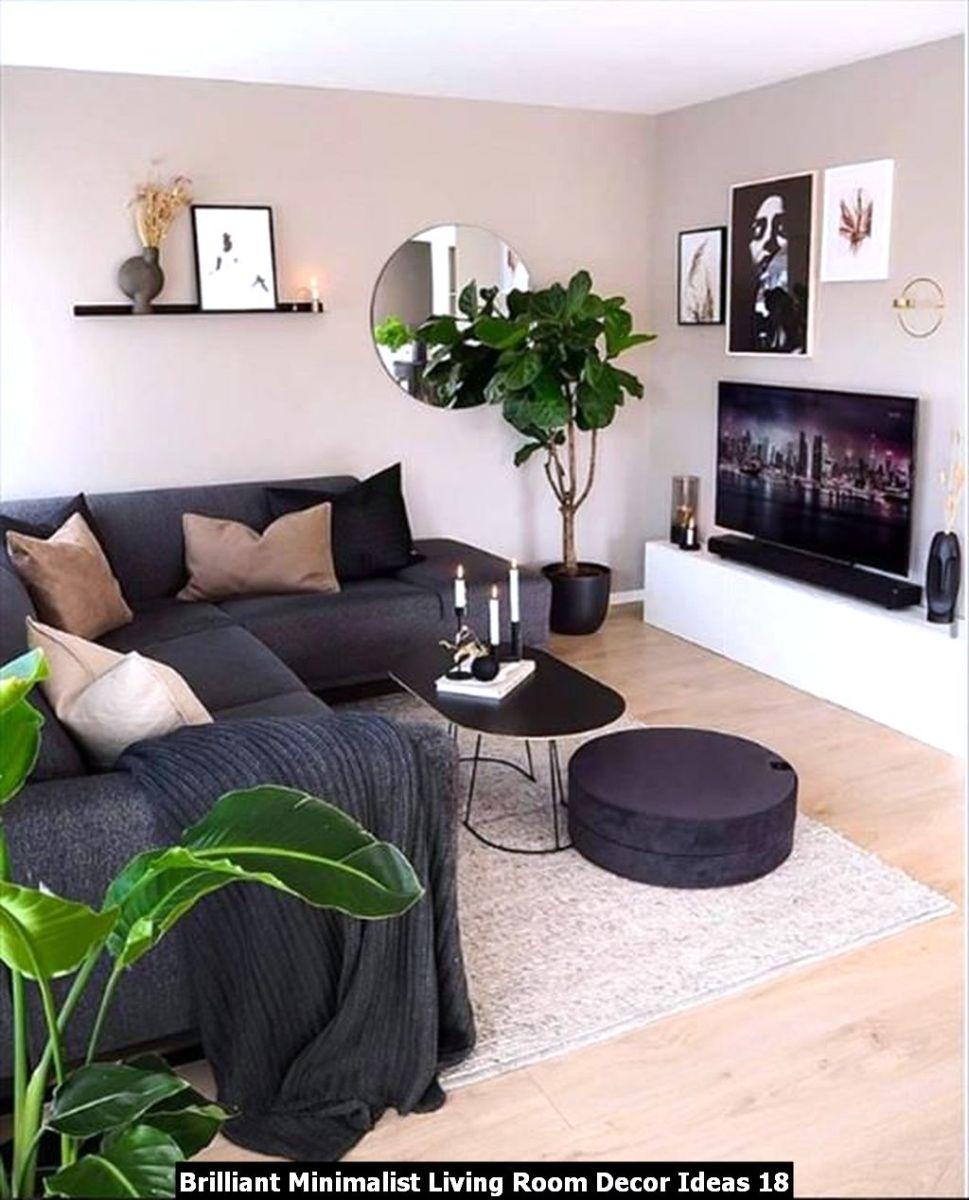 Brilliant Minimalist Living Room Decor Ideas 18