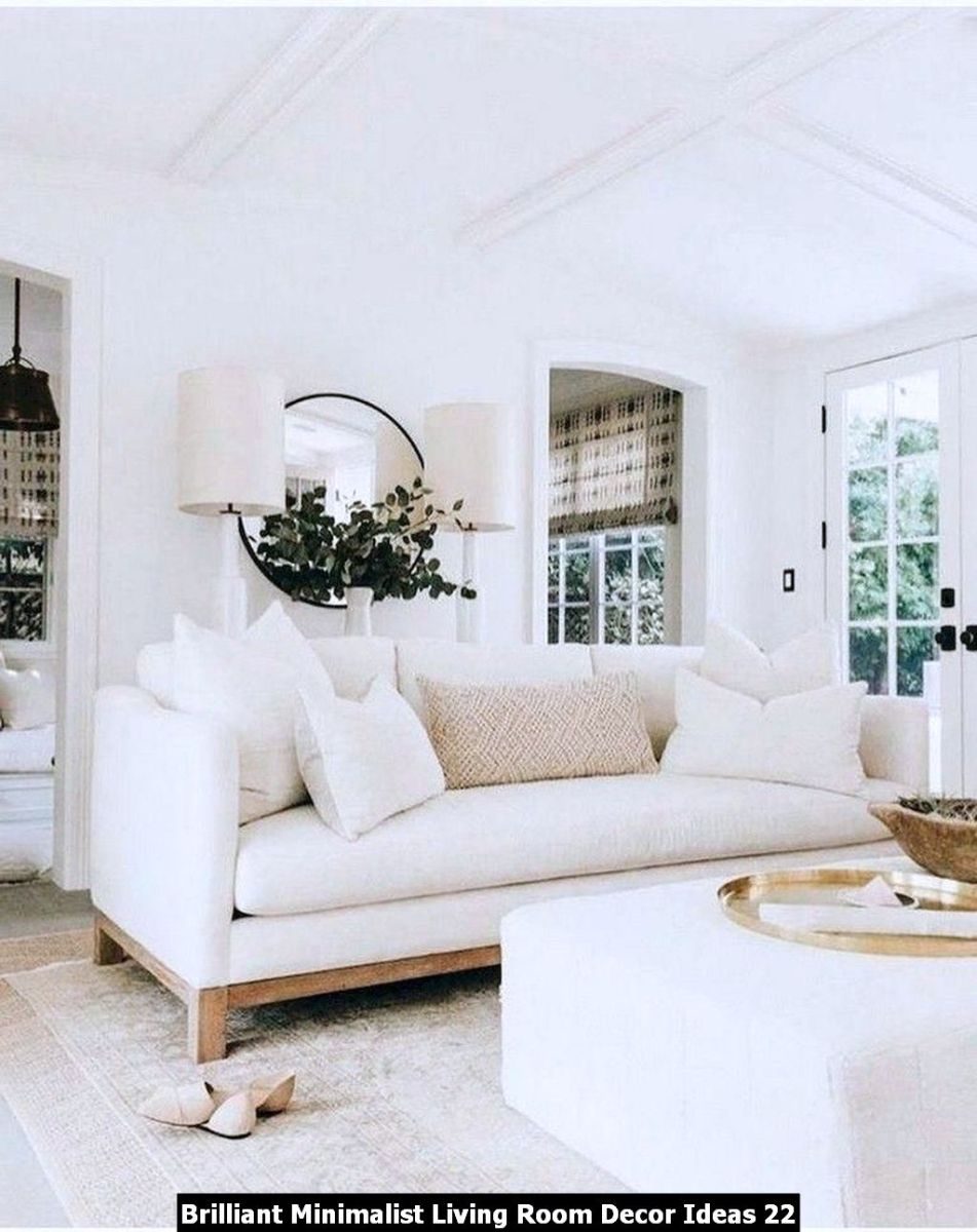 Brilliant Minimalist Living Room Decor Ideas 22