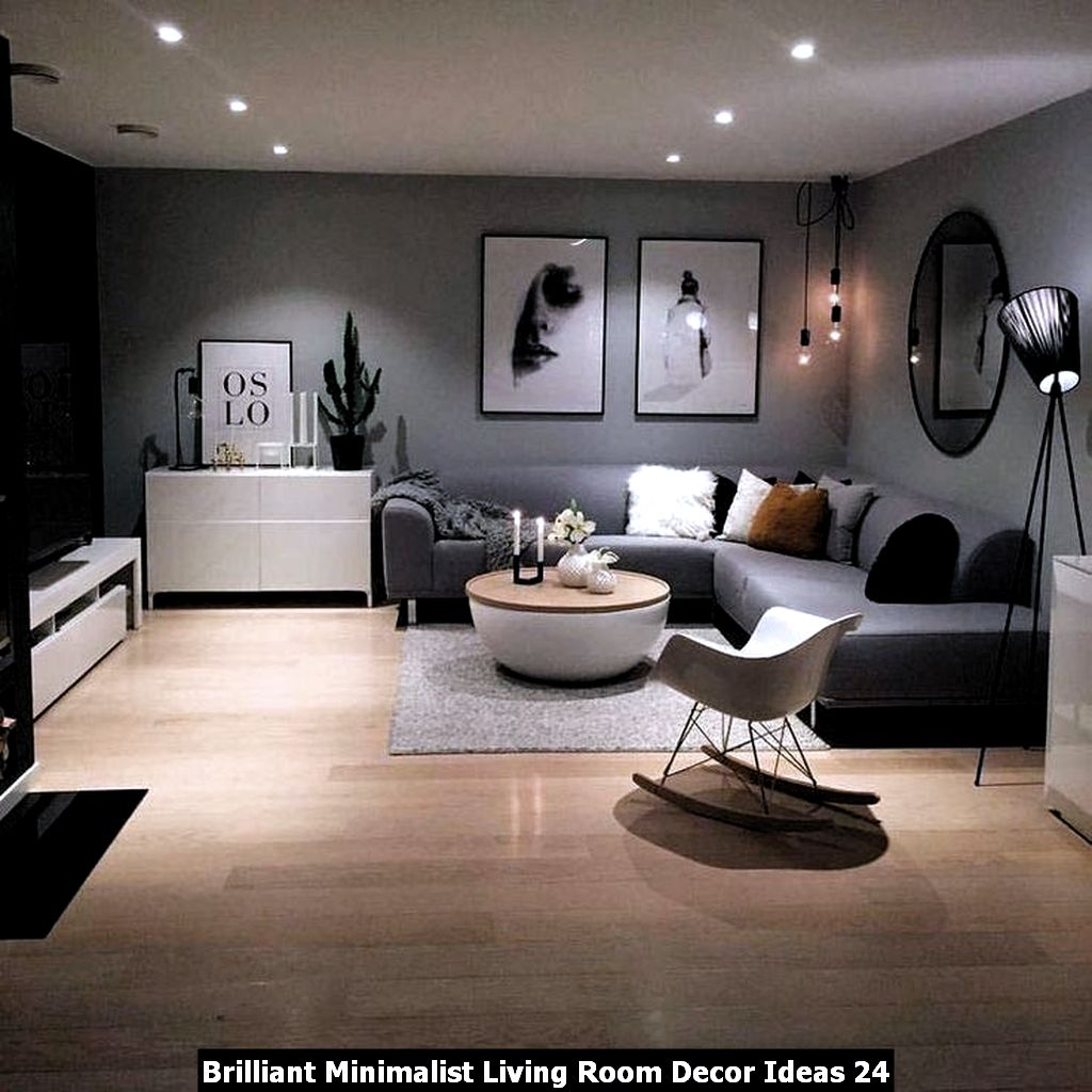 Brilliant Minimalist Living Room Decor Ideas 24