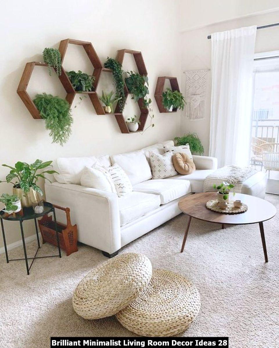 Brilliant Minimalist Living Room Decor Ideas 28