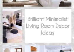 Brilliant Minimalist Living Room Decor Ideas